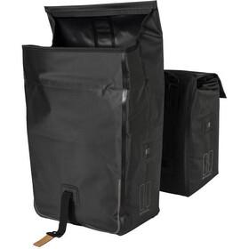 Basil Urban Dry Pyörälaukku Tupla MIK 50l, solid black
